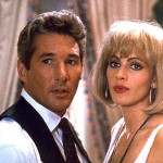 Pretty Woman was pitched to Touchstone Pictures and re-written as a romantic comedy. The original script was titled $3,000. (This title was changed because executives at Touchtone thought it sounded like a title for a Science Ficton film.) It also has unconfirmed references to That Touch of Mink, starring Doris Day and Cary Grant.