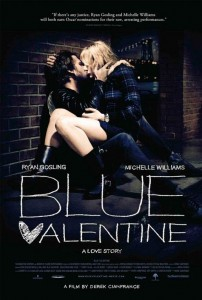 Blue Valentine centers on a contemporary married couple, charting their evolution over a span of years by cross-cutting between time periods.