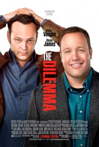 The Dilemma, directed by Ron Howard, tells a story about a man who discovers that his best friend's wife is having an affair.