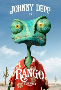 Rango that aspires to be a swashbuckling hero finds himself in a Western town plagued by bandits and is forced to literally play the role in order to protect it.