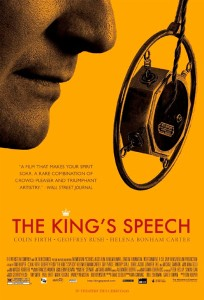 The King's Speech is the story of King George VI of Britain, his impromptu ascension to the throne and the speech therapist who helped the unsure monarch become worthy of it.