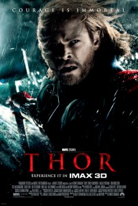 The powerful but arrogant warrior Thor is cast out of the fantastic realm of Asgard and sent to live amongst humans on Earth, where he soon becomes one of their finest defenders.