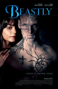 "Beastly is a modern-day take on the ""Beauty and the Beast"" tale where a New York teen is transformed into a hideous monster in order to find true love."