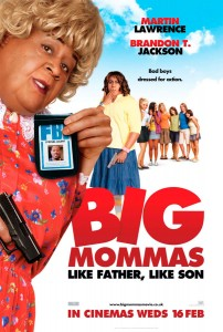 Big Mommas: Like Father, Like Son, FBI agent Malcolm Turner and his stepson Trent go undercover at an all-girls performing arts school.