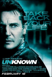 Unknown, based on Didier Van Cauwelaert's novel, stars Liam Neeson, January Jones and Diane Kruger.