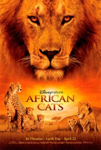 African Cats is a nature documentary centered on two cat families and how they teach their cubs the ways of the wild.