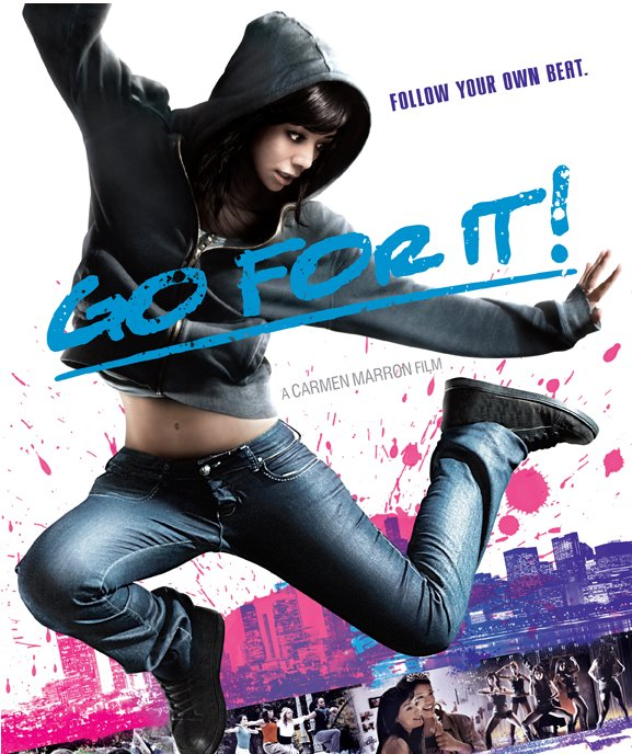 Go for it! follows Carmen, a 19 yr. old girl living in Chicago, who struggles to overcome her fears and follow her dream to be a dancer.