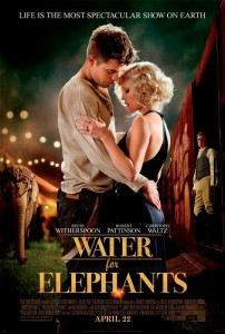 In Water for Elephants, a veterinary student abandons his studies after his parents are killed and joins a traveling circus as their vet.