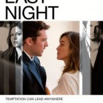 Last Night was shot in New York, with large portions filmed in SoHo, Manhattan.