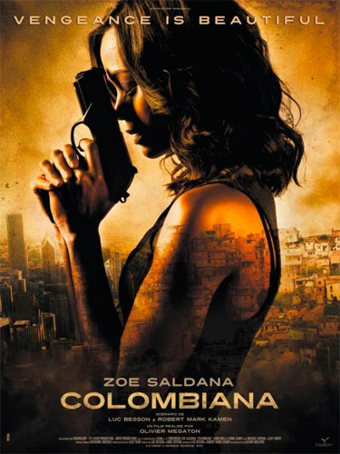 Colombiana is set in Bogota, Colombia