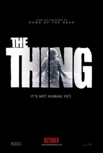 Taking place three days before the events of The Thing by John Carpenter Paleontologist Kate Lloyd (Mary Elizabeth Winstead) and her two assistants Davida Morris (Davetta Sherwood) and Adam Goodman (Eric Christian Olsen) join a Norwegian scientific team that has stumbled across a crashed extraterrestrial spaceship buried in the ice of Antarctica.