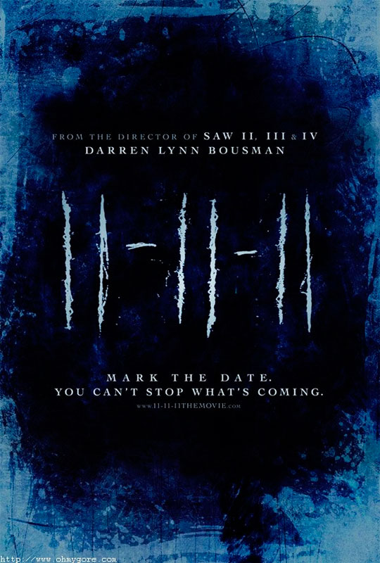 11-11-11 is a horror-thriller set on 11:11 on the 11th day of the 11th month and concerning a entity from another world
