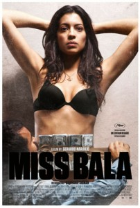 Miss Bala is loosely based on a real incident, in which 2008's Miss Sinaloa, Laura Zúñiga, was arrested with suspected gang members in a truck filled with munitions outside Guadalajara, Jalisco.