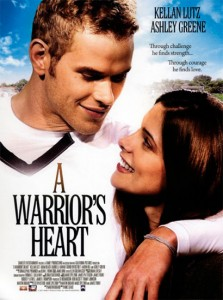A Warrior's Heart was filmed on the East coast and then almost completely re-shot on the West coast after hiring a new director and a few actors