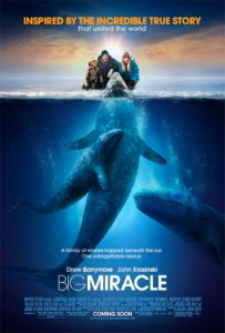 Big Miracle is based on the 1989 book Freeing the Whales: How the Media Created the World's Greatest Non-Event by Tom Rose, and an episode of Untamed and Uncut which covers Operation Breakthrough.