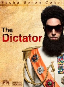 The Dictator is the story of a dictator who risks his life to ensure that democracy would never come to the country he so lovingly oppressed