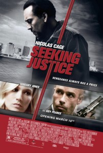 Nicolas Cage says he was attracted to Seeking Justice's story because of its philosophical examination of human nature.