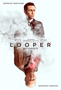 """In the film, Joe, played by Joseph Gordon-Levitt, is a """"looper"""", Old Joe (Bruce Willis)  a hit man for the mob.  When future gangsters want to rub somebody out, they send the target back in time, where Joe is waiting to do him in.  After all, what better place to hide a body than in the past?"""
