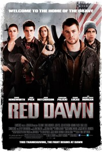 "The filmmakers needed to separate 2012's version of the film from the 1984 original ""Red Dawn"". According to Vinson, ""2012 is a completely different world than it was in 1984. So the fundamental geo-political world had to be recognized in our movie. And we accomplished that."