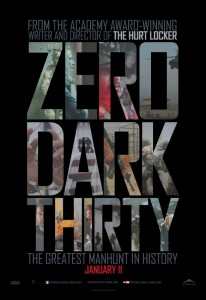 Zero Dark Thirty movie