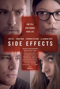 Side Effects is one of actress Rooney Mara's first roles since her Oscar-nominated turn  in The Girl with the Dragon Tattoo catapulted her onto the Hollywood A-list. But Soderbergh first  became aware of Mara when he saw an early cut of her previous film, The Social Network,  directed by David Fincher.