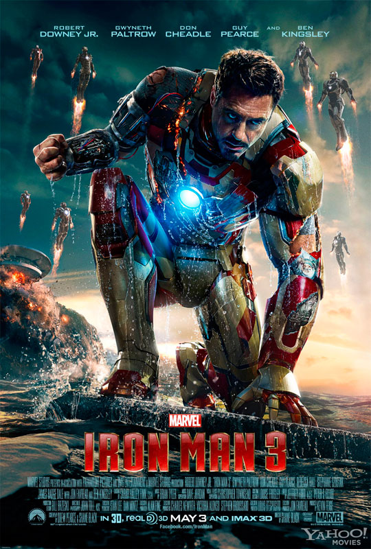 Unlike the first two Iron Man films, Industrial Light and Magic is not involved with the film's visual effects.
