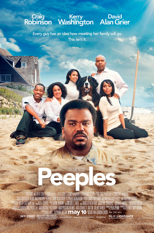 While Peeples is a comedy first and foremost, the film exposes how we hide who we really are out of fear that others won't love us