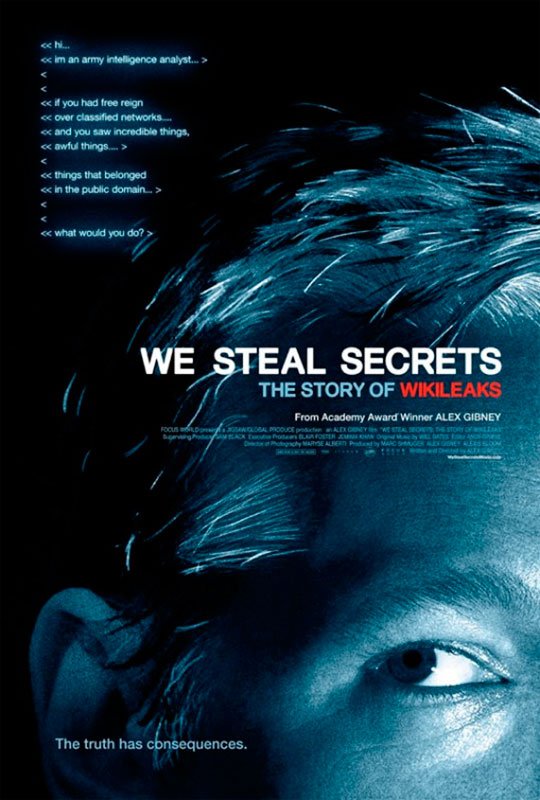 "Shaping We Steal Secrets: The Story of Wikileaks proved to be ""more art than  science,"" says producer Alexis Bloom."