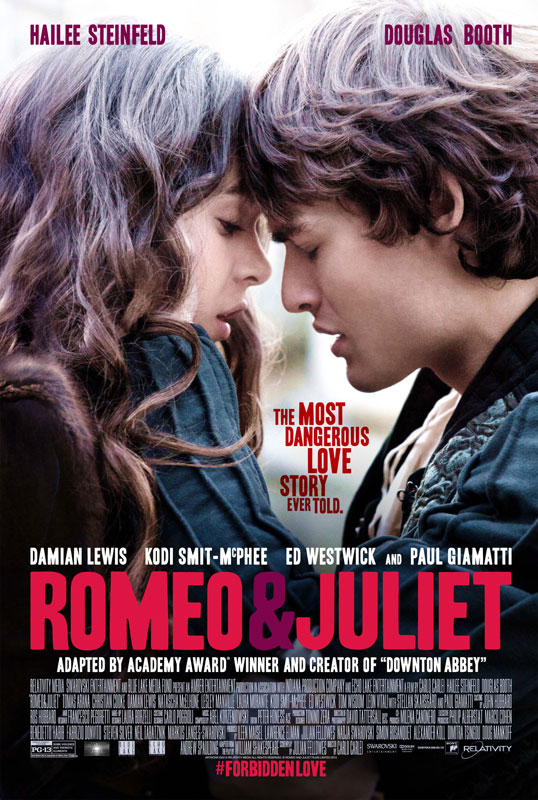 "With talented actors – both veteran stars like Damian Lewis, Natascha McElhone, Stellan Skarsgård, up-and-comers like Christian Cooke, Ed Westwick, Kodi-Smit McPhee – taking on the other supporting roles, ""Romeo & Juliet"" promises to speak to a new generation of lovers – star-crossed and otherwise."