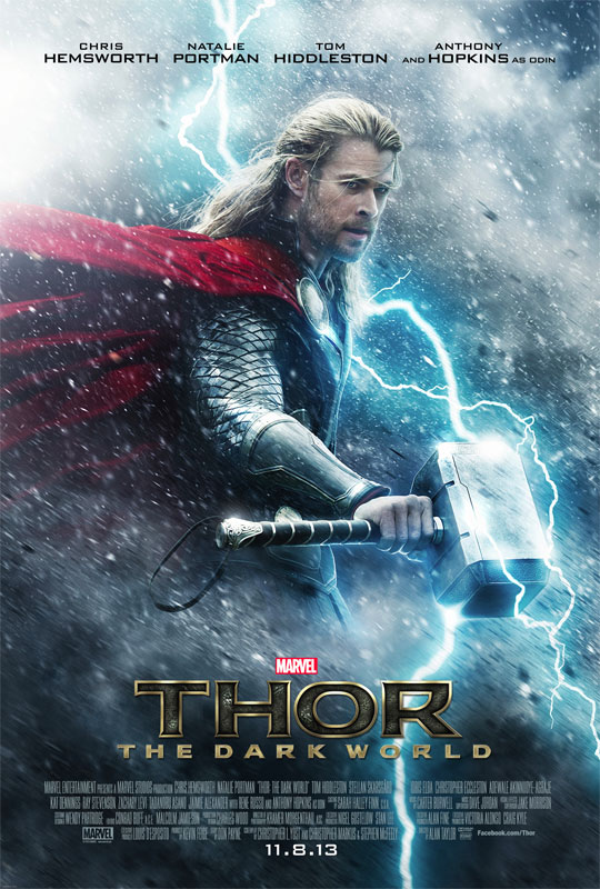 Thor: The Dark World's visual effects were completed by seven special effects studios, including Double Negative and Luma Pictures