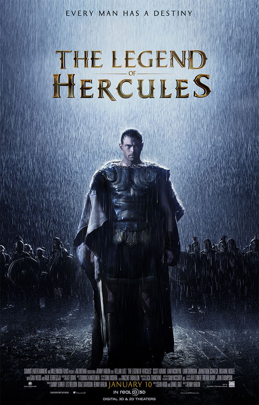 The Legend of Hercules production began in Sophia, Bulgaria, with many of the film's elaborate action sequences shot on green screen at Boyana Studios, the largest in Eastern Europe