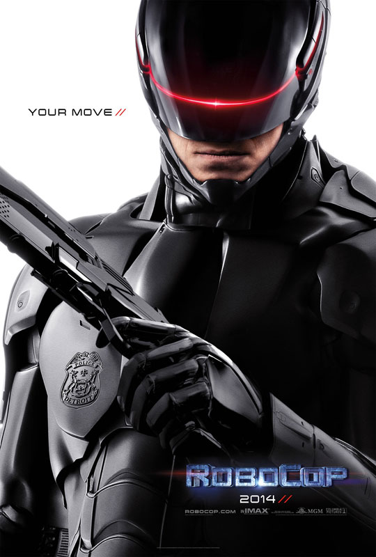 In RoboCop, the year is 2028 and OmniCorp – the world's leader in robot technology – sees a golden opportunity to reap billions for their company. When Alex Murphy (Joel Kinnaman) – a loving husband, father and good cop doing his best to stem the tide of crime and corruption in Detroit – is critically injured, OmniCorp grabs their chance to build a part-man, part-robot police officer.