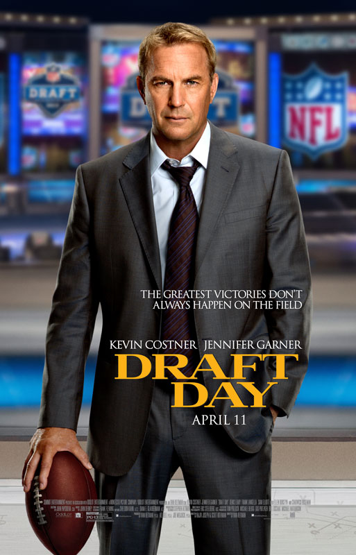 During each day filming at the draft, production was given a 'hard out' (an unmovable time by which production has to have totally cleared and left the space), when access needed to be turned over those actually taking part in the draft.