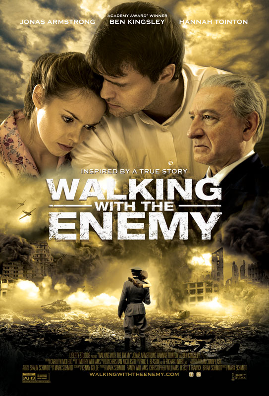 Inspired by the true story of Pinchas Rosenbaum, WALKING WITH THE ENEMY begins in the final months of World War II.