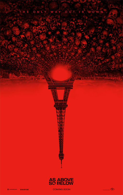 Lensed on a lean-and-mean shooting schedule, As Above/So Below took less than two months to complete principal photography.