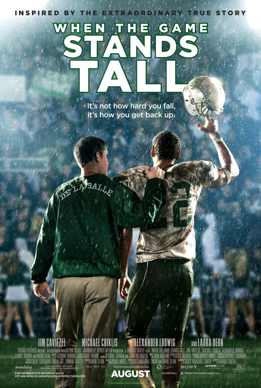 The film even had the support of a former De La Salle player himself, Maurice Jones Drew, who has a cameo in the film.