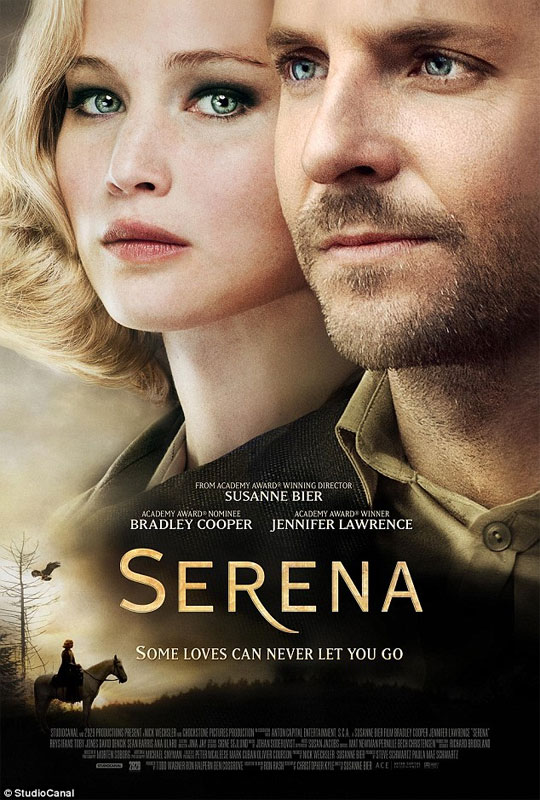 Serena was filmed over eight weeks on location in and around Prague, the Czech Republic during the spring of 2012.