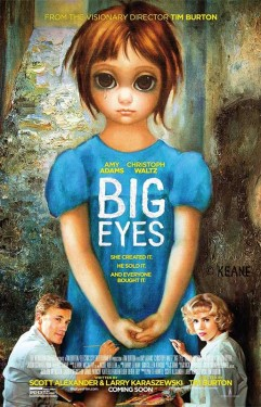 Margaret Keane makes a cameo appearance in the film in a scene filmed in San Francisco at the Palace of the Arts.