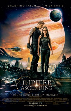 ForJupiterAscending, written, directed and produced by the Wachowskis, MilaKunis and Channing Tatum both trained with UK stunt and fight coordinator Ben Cooke for a number of confrontations.