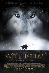 The Mongolian wolves were trained by Andrew Simpson.