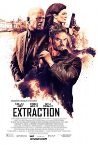 EXTRACTION is the fourth action film from producer Randall Emmett, the co-founder of Emmett/Furla/Oasis Films (E/F/O) and longtime producing partner George Furla, and Aperture's Adam Goldworm, the production team behind the action films The Prince, Rage,and Vice. All four films feature Bruce Willis and were shot on accelerated shooting schedules, three of them on location in the city of Mobile, Alabama.
