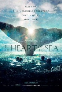 """In the Heart of the Sea"" was filmed almost entirely in sequence for several reasons, not the least of which was the gradual change in the characters' appearances as they waste away from a lack of food and water, as well as shelter from the unforgiving elements."
