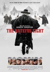 In keeping with Tarantino's appreciation for film and a bygone era of distribution, THE HATEFUL EIGHT will be released domestically on December 25, 2015 exclusively in theaters equipped to project 70mm film. The movie palace experience will live again in one hundred theaters with an exclusive roadshow in the largest 70mm release in over twenty years.