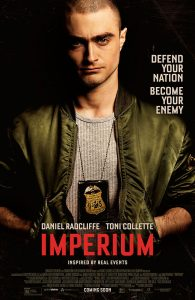 IMPERIUM co-writer Mike German has the kind of pedigree that commands respect: he served in the FBI for 16 years, 12 of them as an undercover agent tasked with infiltrating dangerous white supremacy groups in order to prevent domestic terrorist attacks. German successfully embedded himself with extremist groups on multiple occasions, leading to criminal convictions. German's real life experiences infiltrating homegrown white supremacist terror cells intent on starting race wars, form the basis of the IMPERIUM screenplay.