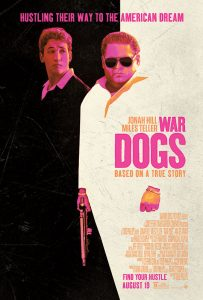 "Filming on ""War Dogs"" began in Romania, which doubled for the country of Albania, where a seemingly endless supply of arms and ammunition is being stored. From Romania, the filmmakers and cast traveled to Las Vegas, where Phillips returned to a familiar location: Caesar's Palace. Scenes were filmed in the famed casino and in their popular restaurant, Rao's."