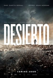 For Desierto, Jonás Cuarón served as director, co-writer, producer, and editor.