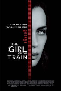 It was director Tate Taylor's desire that, although Rachel is our primary voice, The Girl on the Train be told from all three women's points of view. These were incorporated into the camerawork of director of photography Charlotte Bruus Christensen, a young Danish cinematographer whose earlier films include The Hunt and Far From the Madding Crowd.