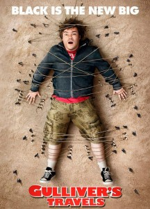 Gulliver's Travels features Jack Black alongside stars such as Catherine Tate, Emily Blunt and Jason Segel