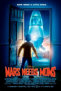 Mars needs Moms is about a young boy named Milo gains a deeper appreciation for his mom after Martians come to Earth to take her away.