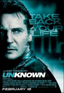 Unknown, based on Didier Van Cauwelaert's novel, stars Liam Neeson, January Jones and Diane Kruger.